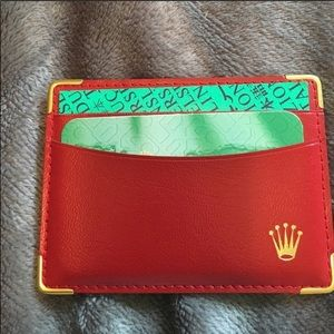 AUTHENTIC VINTAGE ROLEX CARD CASE